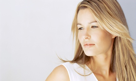 Partial Highlights, Deep-Conditioning Blowout, or Women's Haircut at De Anthony Salon (Up to 50% Off)