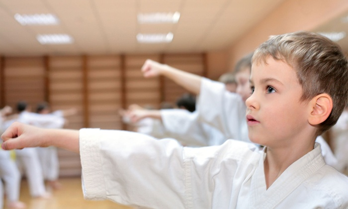 Okamoto's Karate - Multiple Locations: Karate Course for One or Two with Orientation, Month of Classes, and Uniform at Okamoto's Karate (Up to 69% Off)