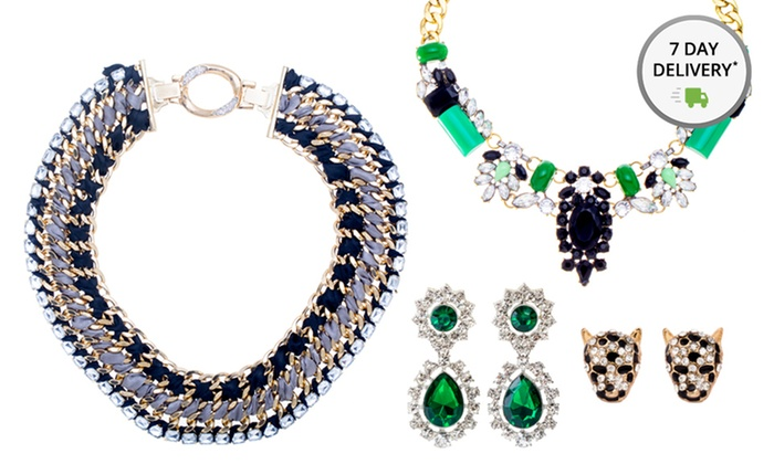 Fashion Necklaces and Earrings: Fashion Necklace or Earrings. Multiple Styles from $14.99—$29.99. Free Returns.