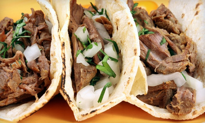 Taco Shop - Hialeah: Mexican Food and Drinks at Taco Shop (Half Off). Two Options Available.