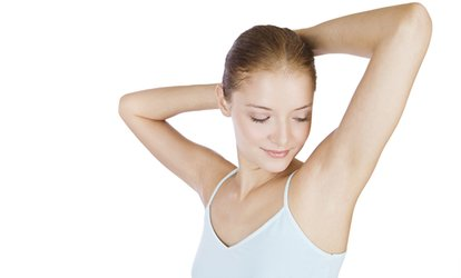Underarm Wax with Optional Arms and Legs Areas at Hands & Tans