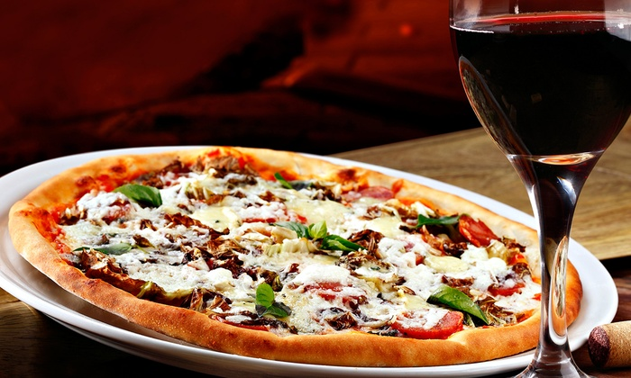 Moonstruck Meadery - Moonstruck Meadery: $29 for a Moonlight Package for Two with Pizza, Mead, and Cheesecake at Moonstruck Meadery ($50 Value)