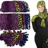 Women's Fleece Hat, Gloves, and Scarf Set