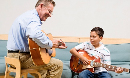 Two or Four 30- or 60-Minute Private Music Lessons at Mitch's Music School (Up to 59% Off)
