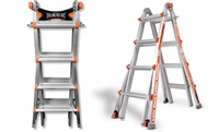 GROUPON: Little Giant 17Ft. or 22Ft. Multi-Use Ladder with La... Little Giant 17Ft. or 22Ft. Multi-Use Ladder with Ladder Rack