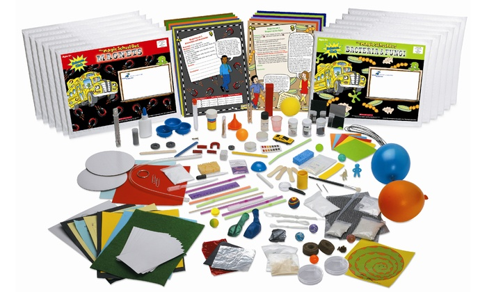 """The Young Scientists Club: $120 for One Year of """"The Magic School Bus"""" Kids' Science Kits from The Young Scientists Club ($239.88 Value)"""