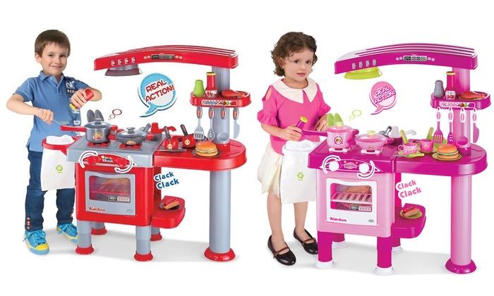 AllKindaThings Pretend Play Kitchen Sets