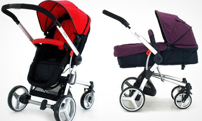 Groupon Goods Global GmbH: Kurvi Match 3-in-1 Pram and Pushchair £165 With Free Delivery (54% Off)