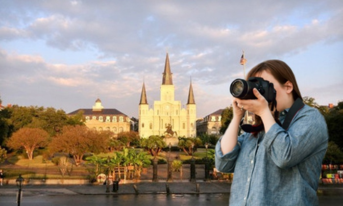 American Photo Safari - French Quarter: 2.5- or 4-Hour Photo Workshop with Site-Seeing Tour of New Orleans from American Photo Safari (Up to 52% Off)