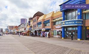 Beach Hotel on Atlantic City Boardwalk
