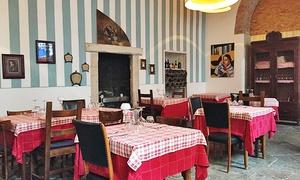 Fbl Fà Balà L'occ: Menu con 1 kg di fiorentina e vino in centro a Brescia (sconto fino a 62%)