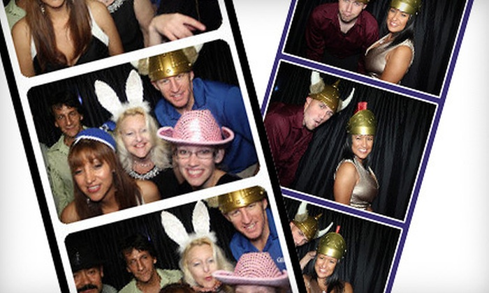 Photo Stars Photo Booth - Kitchener - Waterloo: $399 for a Three-Hour Photo-Booth Rental Package from Photo Stars Photo Booth ($899 Value)
