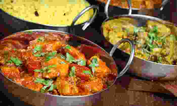 Spice India - Whitehall: Indian Cuisine at Spice India (Up to 52% Off). Two Options Available.