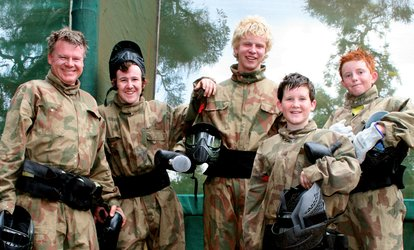 image for £34.95 for a Party for Up to 10 Kids with 100 Paint Balls Each & Light Lunch at Paintball Networks (Up to 84% Off)