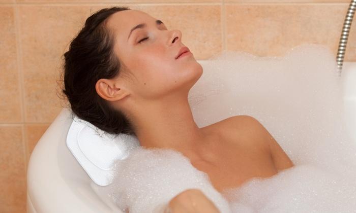 Orthopedic Grade Spa Bath Pillow Groupon Goods