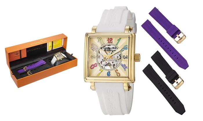 Stuhrling Women's Watch Gift Sets: Stuhrling Women's Watch Gift Sets.