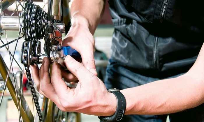Easy Rider Bikes - Mount Pleasant: Standard Bike Tune-Up or Drivetrain Tune-Up and Cleaning at Easy Rider Bikes (Up to 58% Off)