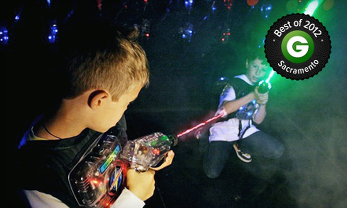Lasertag of Carmichael - Vista Grande: Laser-Tag Game Packs at Lasertag of Carmichael (Up to 60% Off). Three Options Available.