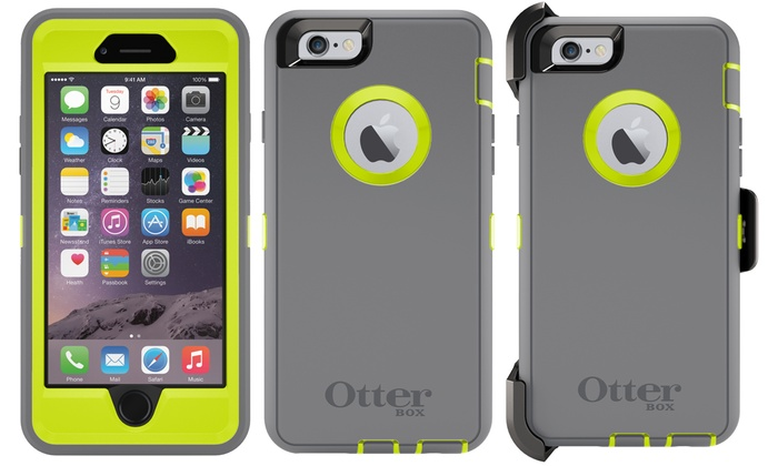 iphone 6 otterbox defender otterbox iphone 6 defender groupon goods 15011