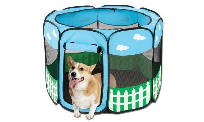 Portable Pet Playpen: Portable Pet Playpen