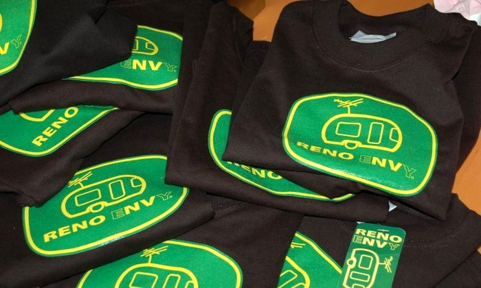 Reno eNVy - Downtown Reno: Nevada-Themed Clothing and Accessories at Reno eNVy (Up to 50% Off). Two Options Available.