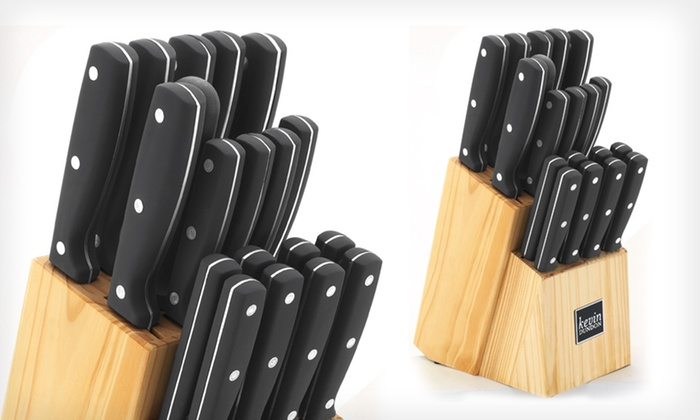 Kevin Dundon 20-Piece Knife Block Set: $49.99 for a Kevin Dundon 20-Piece Knife Block Set ($200 List Price). Free Shipping and Free Returns.