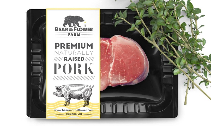 Bear and the Flower Farm - Multiple Locations: Naturally Raised Meats from Bear and the Flower Farm (40% Off). Three Options Available.