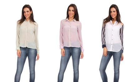 Leichte Sommer-Bluse im Design und der Farbe nach Wahl