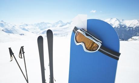 1 día de alquiler de equipo de snowboard para 1 o 2 personas desde 8,95 € en Inland La Pinilla