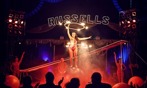 Russells International Circus: Russell's International Circus: Two or Five Front-Circle Tickets, Julies Car Boot Field, 26 May - 5 June  (Up to 77%)