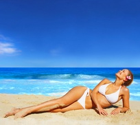 Silhouette Organic Beauty Lounge: One Mystic Spray Tan at Silhouette Organic Beauty Lounge (49% Off)