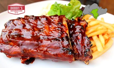Bobbys Restaurant & Bar: $29 for a $60 Cash Voucher for American Cuisine at Chijmes. More Options Available