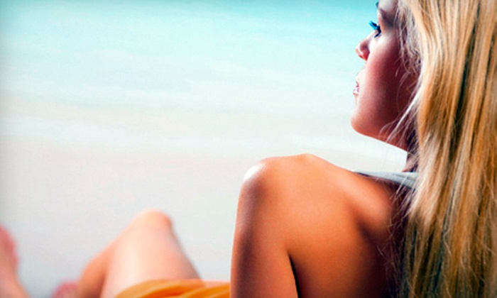 Planet Beach Contempo Spa - Mesa: 3, 6, or 10 Mystic Spray Tan Sessions at Planet Beach Contempo Spa in Mesa (Up to 71% Off)