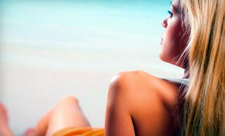 3 Mystic Spray Tan Sessions (a $108 value) - Planet Beach Contempo Spa in Mesa