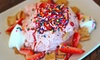 Cloud Shaved Snow - Downtown Fullerton: Five Big Guy Shaved Snows or Three House Special Shaved Snows at Cloud Shaved Snow (Up to 42% Off)