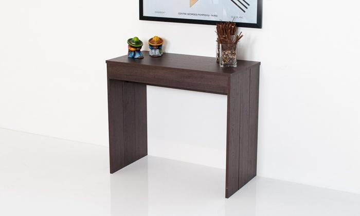 Group Design: Tavolo consolle Pratika allungabile fino a 3 metri a 399 € invece di 778