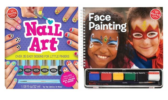 Klutz Nail Art And Face Painting Kit Groupon