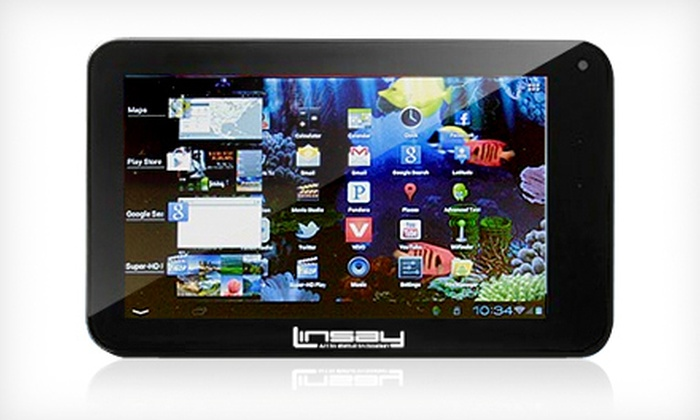 LINSAY: $125 for a 7-Inch Cosmos F-7HD Android Tablet from LINSAY ($299 Value)