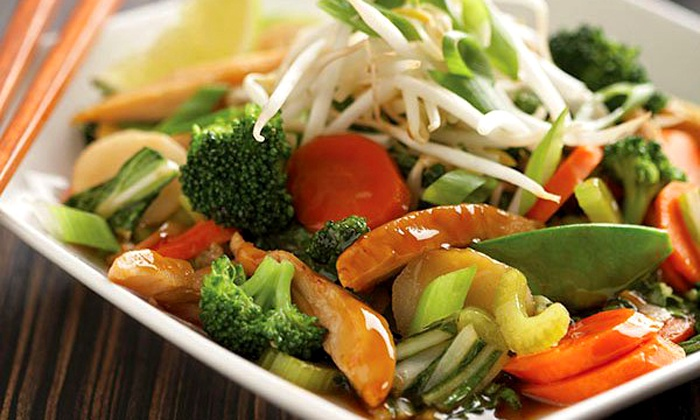 Wok Box - Northeast Hillsboro: Fresh Asian Cuisine for Two or Four at Wok Box (Up to 47% Off)