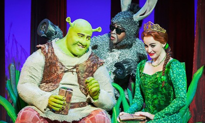 """""""Shrek The Musical"""" - California Theatre of the Performing Arts: $39 to See """"Shrek The Musical"""" at California Theatre of the Performing Arts on March 29 for 30 (Up to $78.75 Value)"""