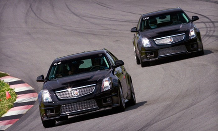 Monticello Motor Club - Monticello: $199 for a 2.5-Hour Cadillac CTS-V Experience Including Driving on a Private Track at Monticello Motor Club ($500 Value)