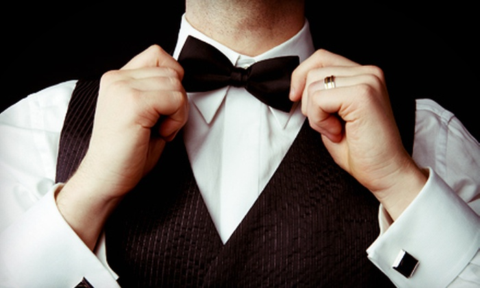 Zayas Men's Shop - Hialeah: $49 for a Full Tuxedo Rental with Cufflinks and Accessories from Zayas Men's Shop ($169.99 Value)