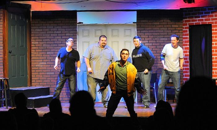 Sak Comedy Lab - SAK Comedy Lab: Improv Comedy Show Including Beer or Wine for Two at Sak Comedy Lab (Up to Half Off)