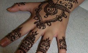 Houston Henna Tattoos: 30-Minute Henna Art Session from Houston Henna Artist - Naiha Khan (47% Off)