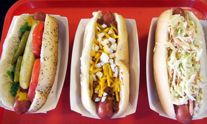 The Dog of Nashville - Hillsboro West End: $10 for $20 Worth of Hot Dogs and Burgers at The Dog of Nashville