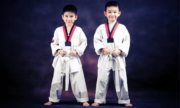 Master Rick's Talium TaeKwonDo - Briarforest: $49 for One Month of Tae Kwon Do Classes at Master Rick's Talium TaeKwonDo (Up to $180 Value)
