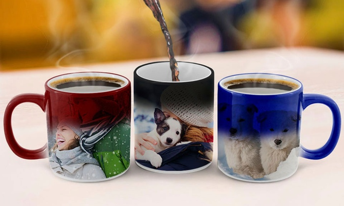 Customizable Red, Blue, or Black Magic Mugs from Canvasonsale.com