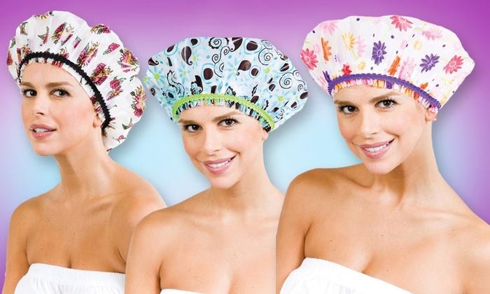 Betty Dain Shower Cap 3-Pack: Betty Dain Shower Cap 3-Pack. Free Returns.