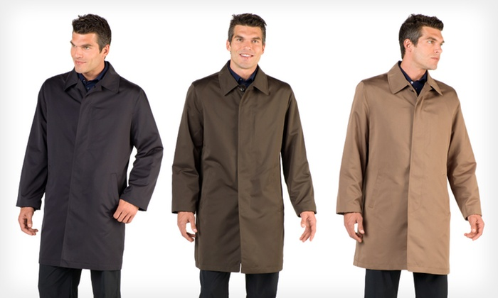 362d057b1 $49.99 for a London Fog Men's Lightweight Raincoat in Black, Khaki, or  Olive ($250 List Price). Free Shipping & Returns.
