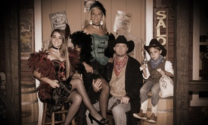 Up to 78% Off Old-Time Photo Shoot at Four Sisters Old Time Photo LLC, plus 6.0% Cash Back from Ebates.